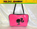 BARBIE PRETA BOLSA OMBRO PINK