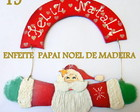 ENFEITE DE NATAL EM MADEIRA