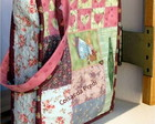 Bolsa Em Patchwork - Harmonia com Anjo