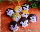 BOTTONS ( BROCHE ) CARINHAS