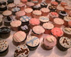 Cupcakes em pasta americana