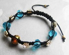 Pulseira Shamballa Cristal - az