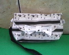 Bolsinha Clutch Black & White