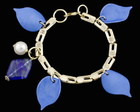 PULSEIRA COM PEDRA GATA BLUE