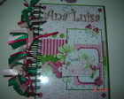AGENDA SCRAP PERSONALIZADA 2012