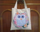 Ecobag Corujona -  Modelo