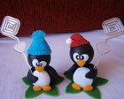 Pinguins porta recado