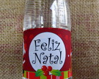 Rtulo gua personalizada Natal
