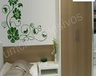 Adesivo floral 01m+espatula+frete gratis