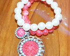 Pulseira Red Pearls