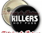 BOTON 2,5cm THE KILLERS