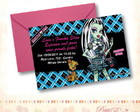 Convite Monster High - Frankie Stein