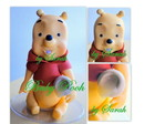Ursinho Baby Pooh TOPO DE BOLO