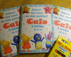 Caderninho colorir - Backyardigans 2