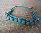 PULSEIRA MACRAME  COM STRAS
