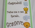 CADERNO DE MENSAGENS E RECORDAOES