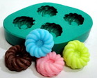 Molde de silicone - Mini Donuts detalhad