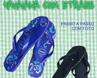 APOSTILA HAVAIANA COM STRASS