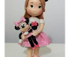 TOPO DE BOLO FANTASIA DA MINNIE