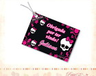 Tag Personalizado - Monster High