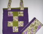 Patch Floral Roxo