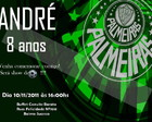 Arte Convite Palmeiras