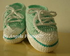 All Star  Baby Croche Verde agua/piscina