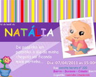 Arte Convite Natlia