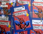 CONVITE SCRAPBOOK - HOMEM ARANHA