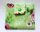 Porta absorvente Verde Floral