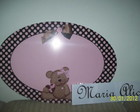 Placa pvc personalizada
