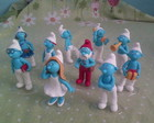 os smurfs em biscuit