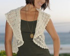 BOLERO EM CROCHE-SUN