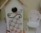 casinha porta trecos com scrap decor
