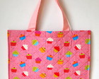 Ecobag - Cupcake Rosa