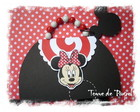 Convite Minnie Lollipop