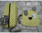 Conjunto necessaire e moedeiro