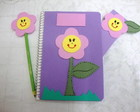 Caderno em Eva