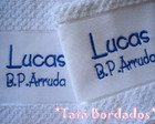 Jogo de Toalhas Personalizado