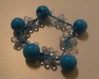 Pulseira biju Azul