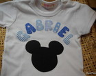 Body ou camiseta Mickey