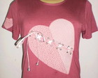 Camiseta corao
