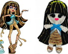 Chaveiro Cleo -Monster High