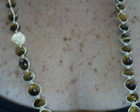 COLAR SHAMBALA OLHO DE TIGRE