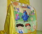 MOCHILA GALINHA PINTADINHA