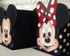 Porta lpis Mickey e Minie