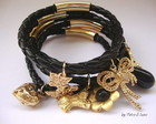 Bracelete Golden Black