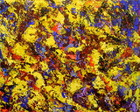 PINTURA ABSTRATA ESPATULADA 40X50 COD207
