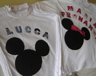 Camisetas Minnie e Mickey