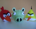 Angry Birds de Feltro